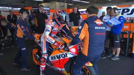 The full Warm Up session for the MotoGP? grid as they prepare to go racing