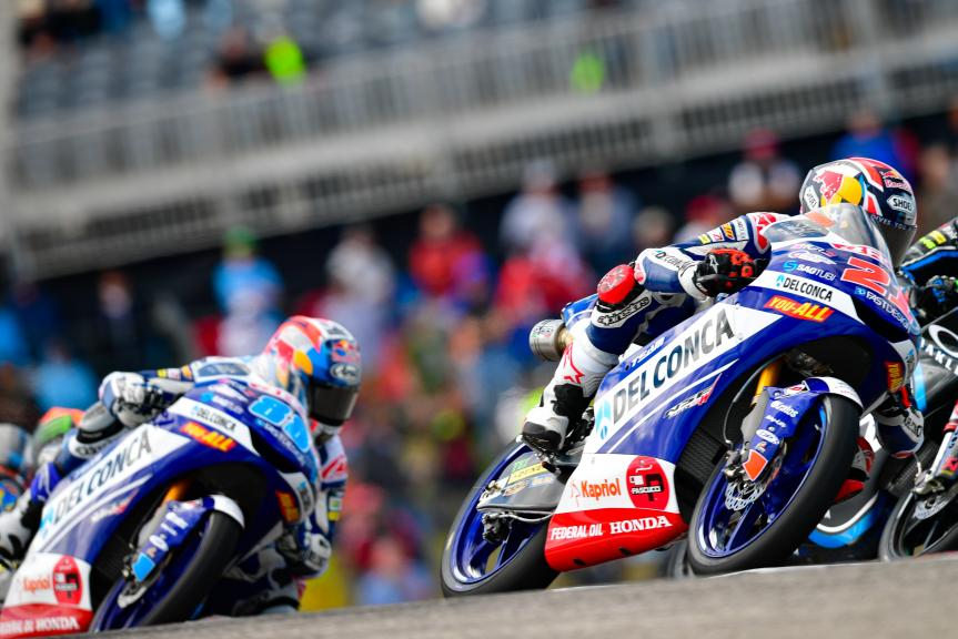 Fabio Di Giannantonio, Jorge Martin, Del Conca Gresini Moto3, Red Bull Grand Prix of The Americas