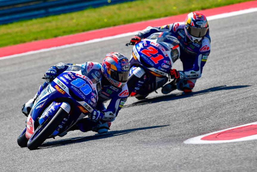 Fabio Di Giannantonio, Jorge Martin, Del Conca Gresini Moto3, Red Bull Grand Prix of The Americas