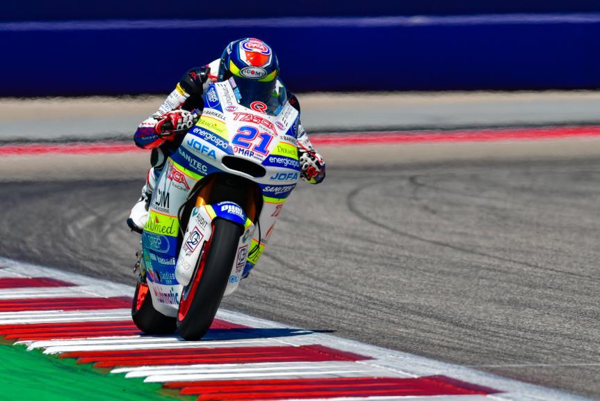 Federico Fuligni, Tasca Racing Scuderia Moto2, Red Bull Grand Prix of The Americas
