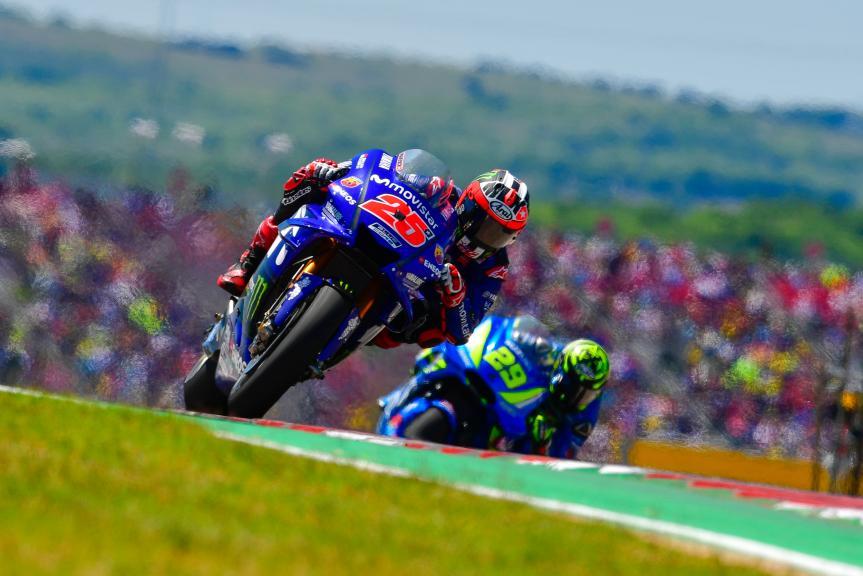 Maverick Viñales, Movistar Yamaha MotoGP, Andrea Iannone, Team Suzuki Ecstar, Red Bull Grand Prix of The Americas