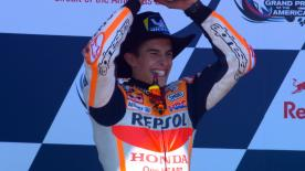The COTA King dominates in America, ahead of Viñales and Iannone, leaving 5 riders in MotoGP™ Championship contention