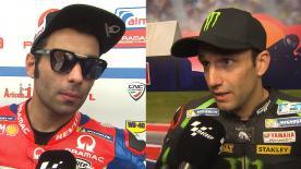Les principaux protagonistes de la grille MotoGP™ reviennent sur leurs qualifications en Argentine.