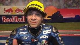 Marco Bezzecchi holte P3 beim GP Amerika trotz Reifenproblemen. Hier erklärt er sein Rennen.