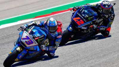 Free Video: Marquez and Bagnaia pass and re-pass!