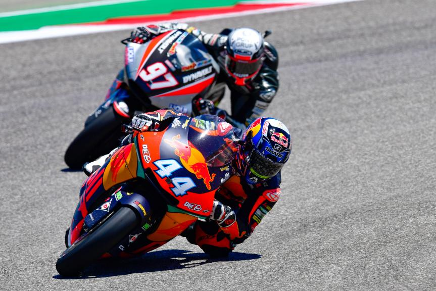 Miguel Oliveira, Red Bull KTM Ajo, Xavi Vierge, Dynavolt Intact GP, Red Bull Grand Prix of The Americas