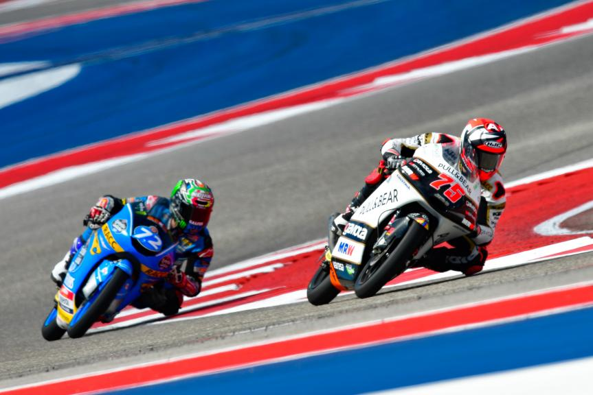 Albert Arenas, Angel Nieto Team Moto3, Alonso Lopez, Estrella Galicia 0,0, Red Bull Grand Prix of The Americas
