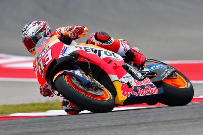 Warm Up in Texas, Marquez comanda davanti a Viñales