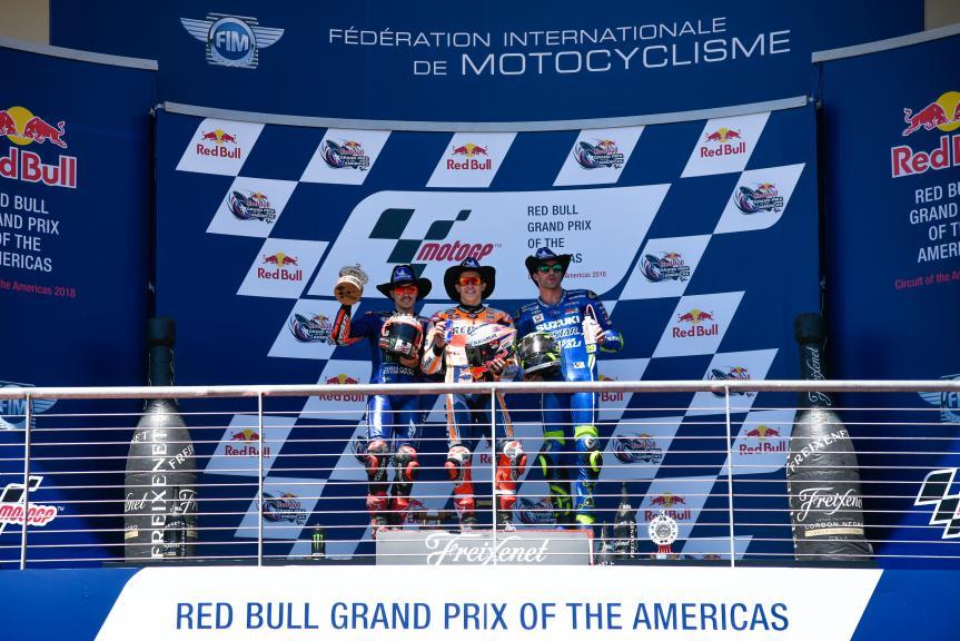 Marc Marquez, Maverick Viñales, Andrea Iannone, Red Bull Grand Prix of The Americas