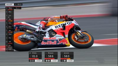 Free video: The tense final two minutes of Q2 at COTA