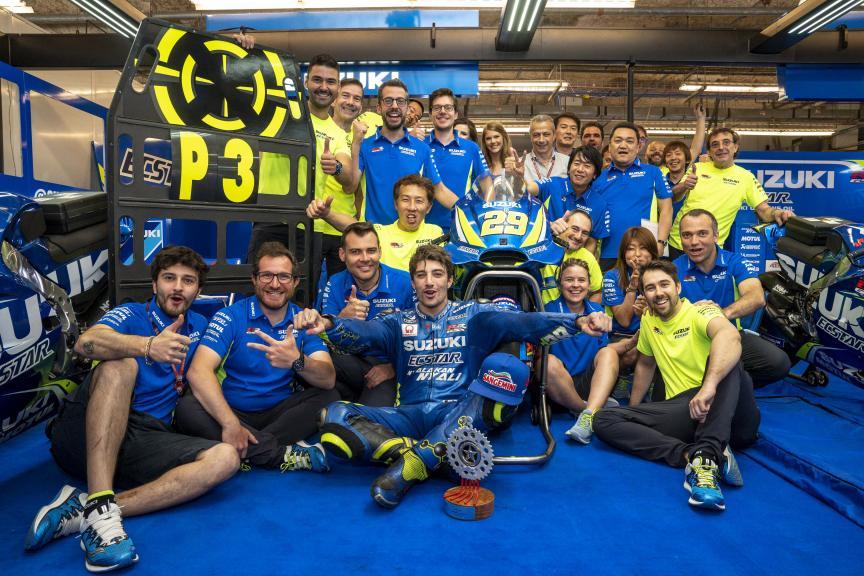 Andrea Iannone, Team Suzuki Ecstar, Red Bull Grand Prix of The Americas