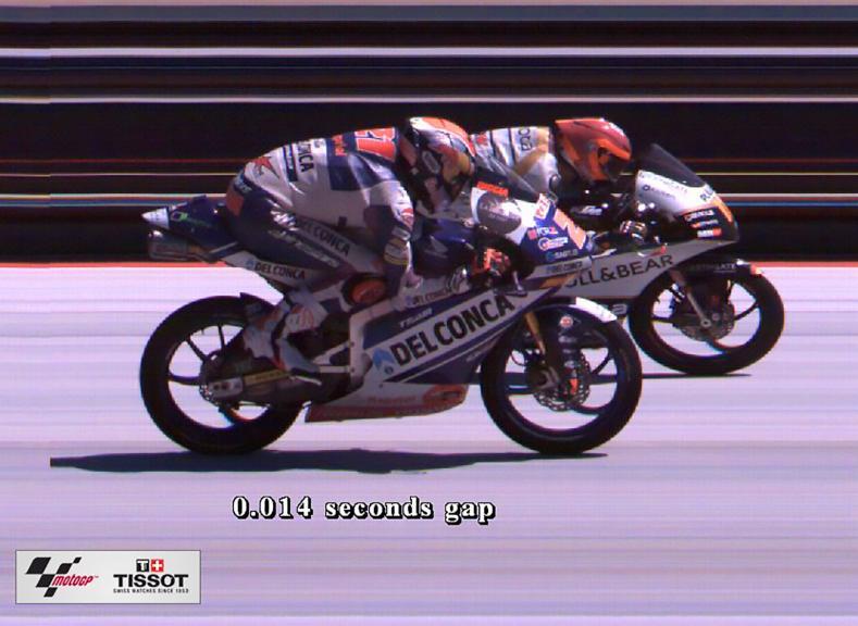 Photofinish, Moto3, Red Bull Grand Prix of The Americas