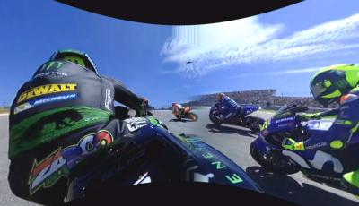 Relive Zarco's start at the Americas GP in 360 OnBoard!