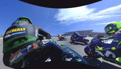 OnBoard 360 : Vivez le départ du GP des Amériques avec Zarco