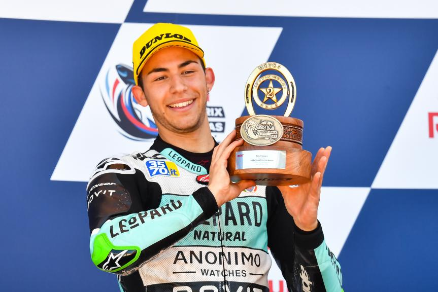 Enea Bastianini, Leopard Racing, Red Bull Grand Prix of The Americas