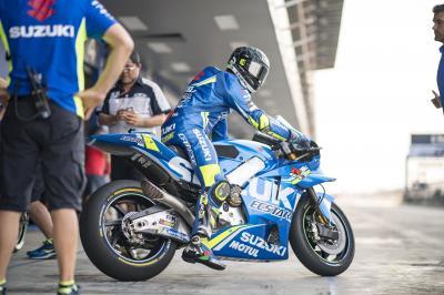 Suzuki en essais privés à Motegi