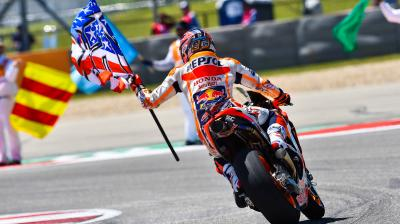 Marquez has Rossi and Agostini records in sight