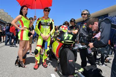 Aegerter fuori a Jerez