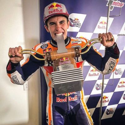Ride 'em cowboy // @marcmarquez93 went 6 for 6 at