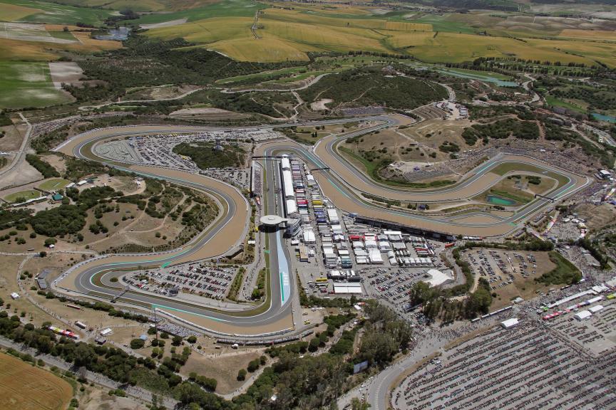 Jerez, Aerial circuit