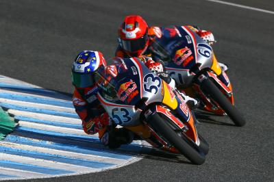 La Red Bull Rookies Cup in pista a Jerez