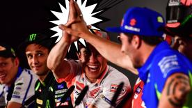 We find out what you - the fans - would like to know about your favourite riders in the MotoGP™ Press Conference