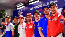 Revivez l'intégralité de la conférence de presse, qui s'est tenue en amont du GP d'Espagne.