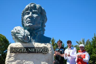 Der Circuit in Jerez ehrt Angel Nieto
