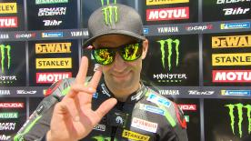 The Yamaha Tech 3 rider talks about his good feeling on the bike after the first day at the Circuit of Jerez Angel Nieto