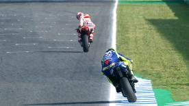 Enjoy some of the best action from Jerez in super slow motion