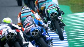 The first day in Jerez saw the Italian and Spanish riders battle it out for the top of the timesheet. Di Giannantoni makes up the top 3