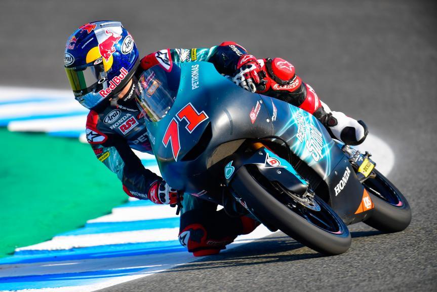 Ayumu Sasaki, Petronas Sprinta Racing, Gran Premio Red Bull de España