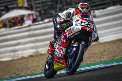 Jerez: Antonelli riposte en FP2