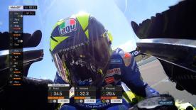 Erlebe die Action der Königsklasse in den letzten 120 Sekunden des Qualifyings auf dem Circuit de Jerez Angel Nieto