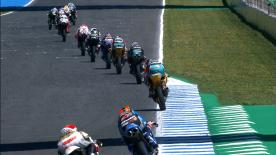 The battle for pole in Moto3™ is on! Watch as the lightweight class battle it out for their grid positions
