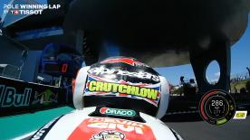 Relive Crutchlow's pole-winning lap at the Circuito de Jerez Angel Nieto