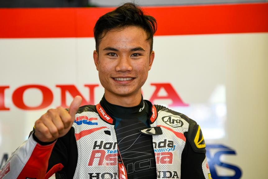 Nakarin Atiratphuvapat, Honda Team Asia, Gran Premio Red Bull de España