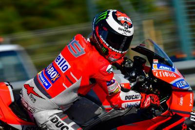 "Lorenzo: new parts ""a step forward"""