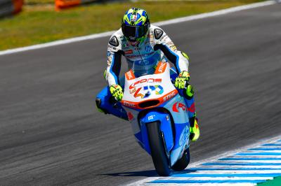 Baldassarri breaks lap record ahead of qualifying