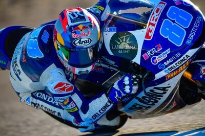 Martín se replace avant les qualifications à Jerez
