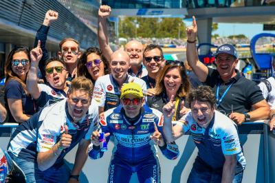 Martin bissa, è pole a Jerez