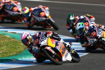 Rivivi Gara 1 della Rookies Cup a Jerez