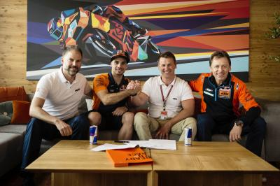 Oliveira heading for MotoGP™ in 2019, with KTM Tech 3