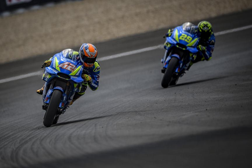 Alex Rins, Andrea Iannone, Team Suzuki Ecstar, Gran Premio Red Bull de España
