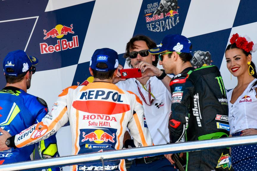 Marc Marquez, Andrea Iannone, Johann Zarco, Gran Premio Red Bull de España