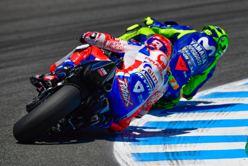 Danilo Petrucci, Alma Pramac Racing, Valentino Rossi, Movistar Yamaha MotoGP, Gran Premio Red Bull de España