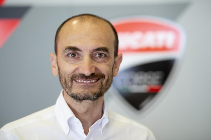 Claudio Domenicali, Ducati Team