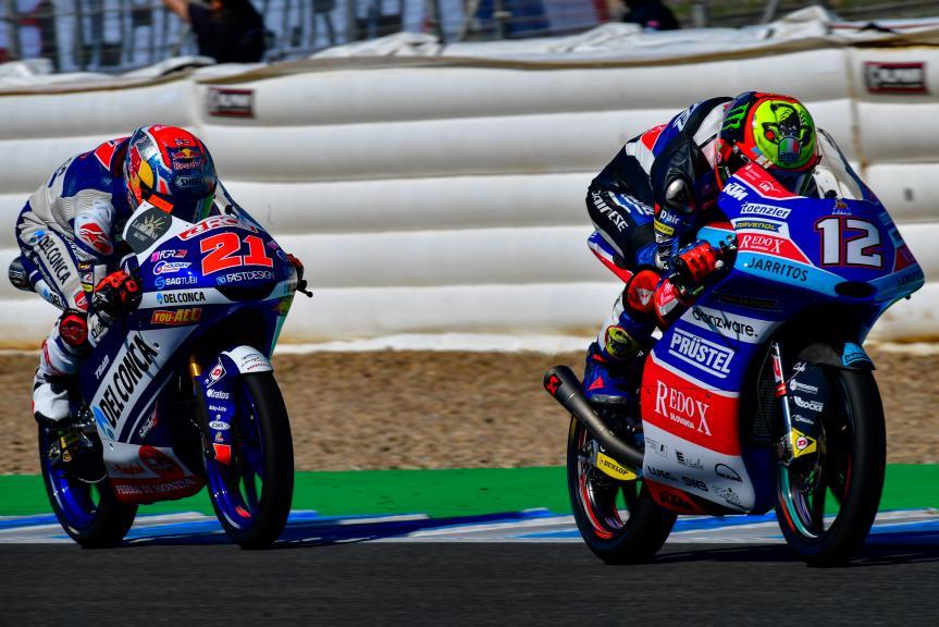 Marco Bezzecchi, Pruestelgp, Fabio Di Giannantonio, Del Conca Gresini Moto3, Gran Premio Red Bull de España