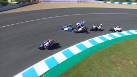 Canet berührt Martin und sorgt auch für Stürze von Bastianini und Arbolino. 3 WM-Kandidaten sind beim Spanish GP ausgeschieden!