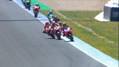 Marquez's new overtaking style in Jerez